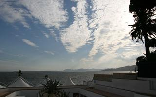 Juan les Pins clouds (click to zoom)