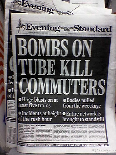 London Evening Standard 7 July 05